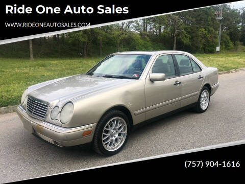 1997 Mercedes-Benz E-Class for sale at Ride One Auto Sales in Norfolk VA