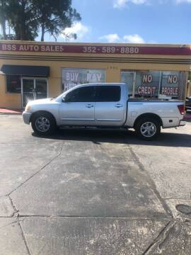 2005 Nissan Titan for sale at BSS AUTO SALES INC in Eustis FL