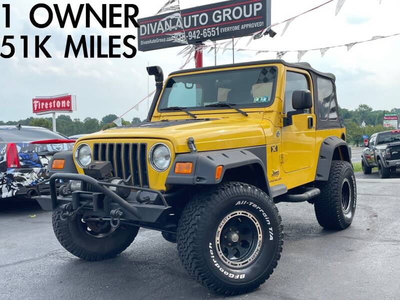 2006 Jeep Wrangler for sale at Divan Auto Group in Feasterville Trevose PA