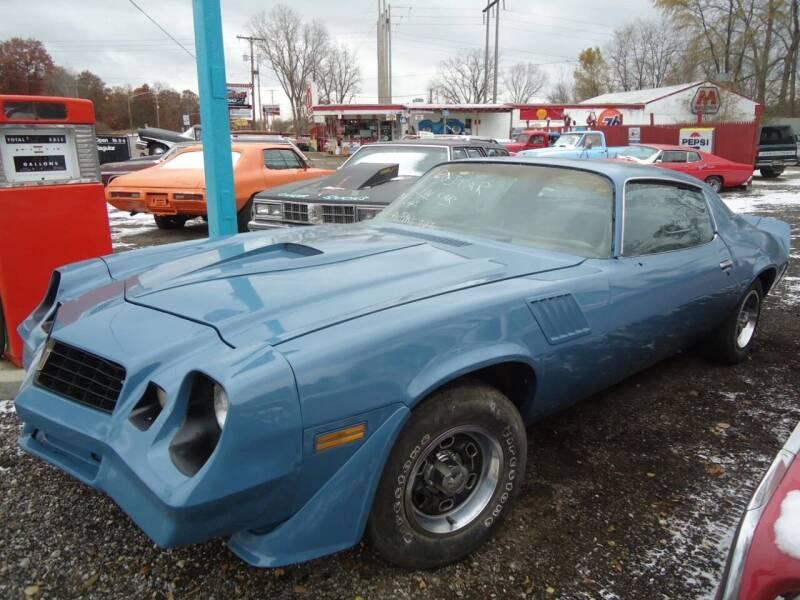 1978 Chevrolet Camaro for sale at Marshall Motors Classics in Jackson Michigan MI