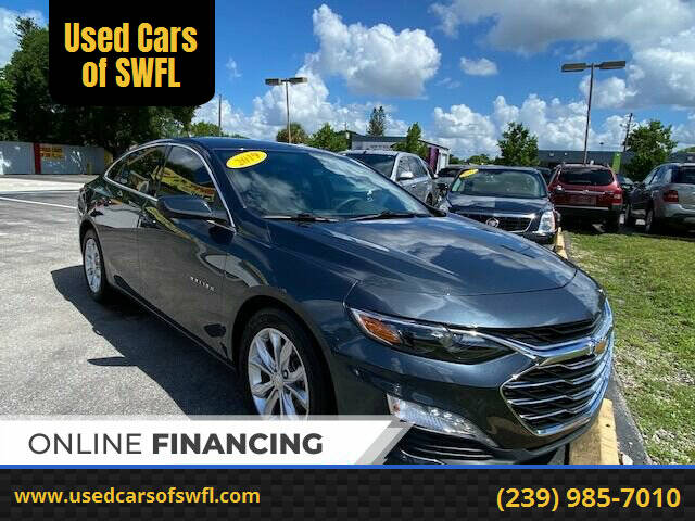 2019 Chevrolet Malibu for sale at Used Cars of SWFL in Fort Myers FL