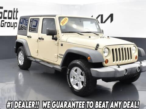 2011 Jeep Wrangler Unlimited for sale at Chantz Scott Kia in Kingsport TN