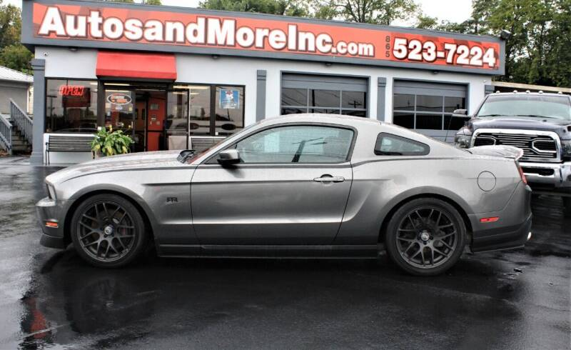2012 Ford Mustang for sale at Autos and More Inc in Knoxville TN
