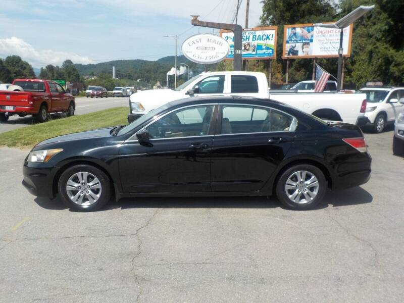 2012 Honda Accord for sale at EAST MAIN AUTO SALES in Sylva NC