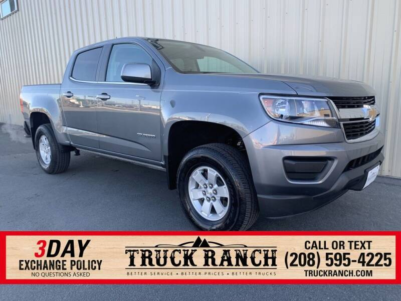 2019 Chevrolet Colorado for sale at Truck Ranch in Twin Falls ID