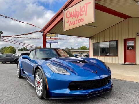 2015 Chevrolet Corvette for sale at Sandlot Autos in Tyler TX