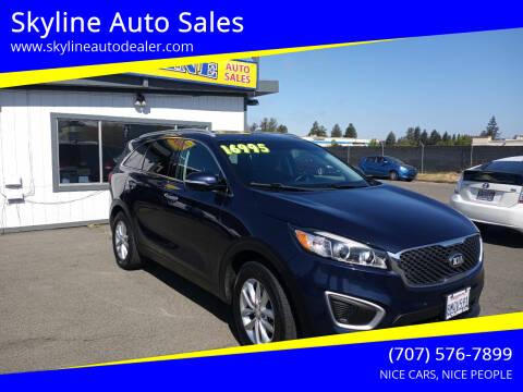 2016 Kia Sorento for sale at Skyline Auto Sales in Santa Rosa CA