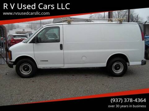 2000 Chevrolet Express Cargo for sale at R V Used Cars LLC in Georgetown OH