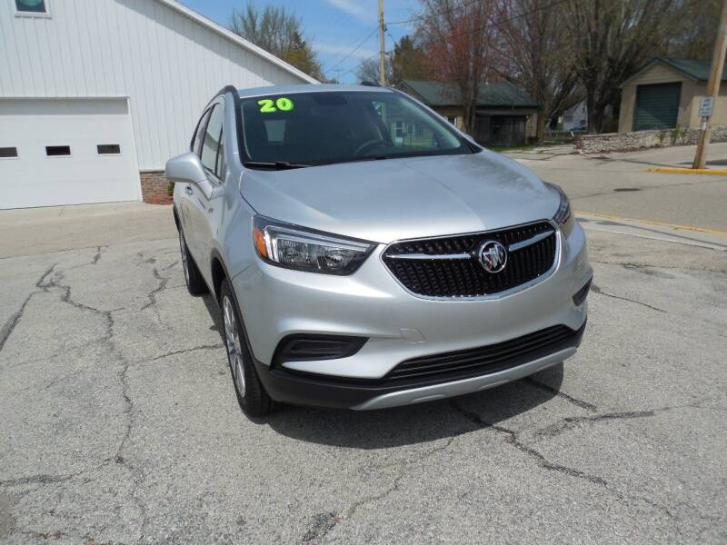 2020 Buick Encore for sale at Streich Motors Inc in Fox Lake WI