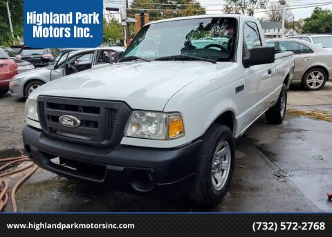 2008 Ford Ranger for sale at Highland Park Motors Inc. in Highland Park NJ