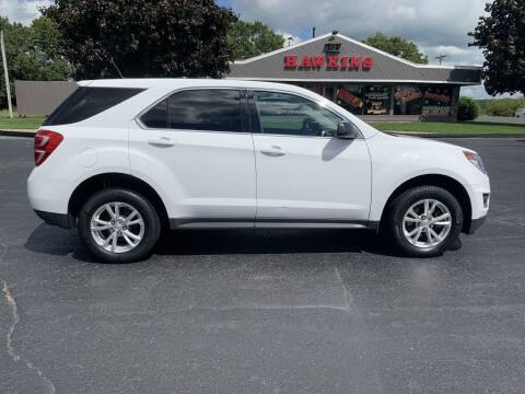 2017 Chevrolet Equinox for sale at Hawkins Motors Sales in Hillsdale MI
