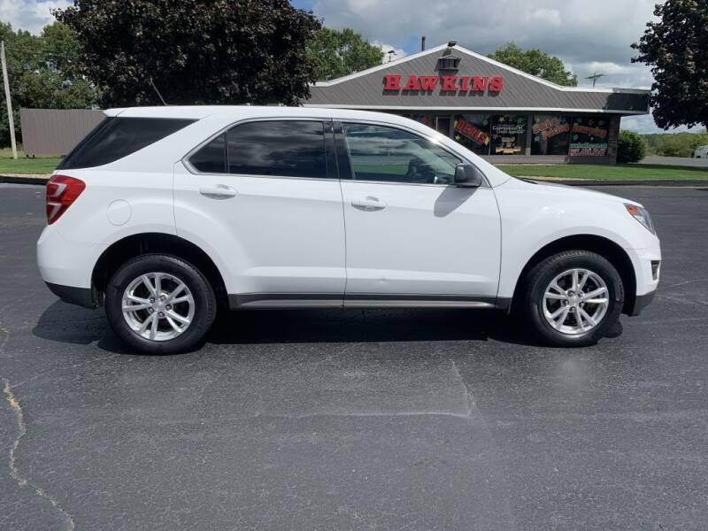 2017 Chevrolet Equinox for sale at Hawkins Motors Sales in Hillsdale MI