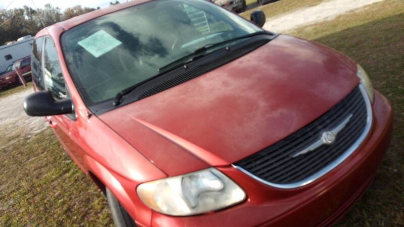 2003 Chrysler Town and Country for sale at MOTOR VEHICLE MARKETING INC in Hollister FL