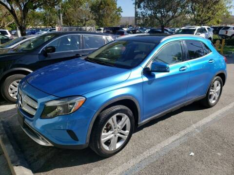 2015 Mercedes-Benz GLA for sale at DORAL HYUNDAI in Doral FL