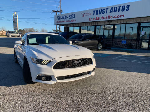 2015 Ford Mustang for sale at Trust Autos, LLC in Decatur GA