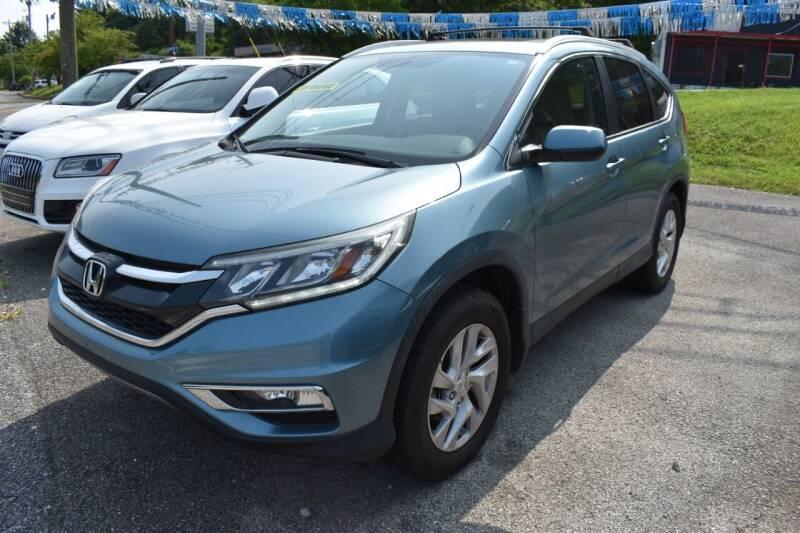 2015 Honda CR-V for sale at Gamble Motor Co in La Follette TN
