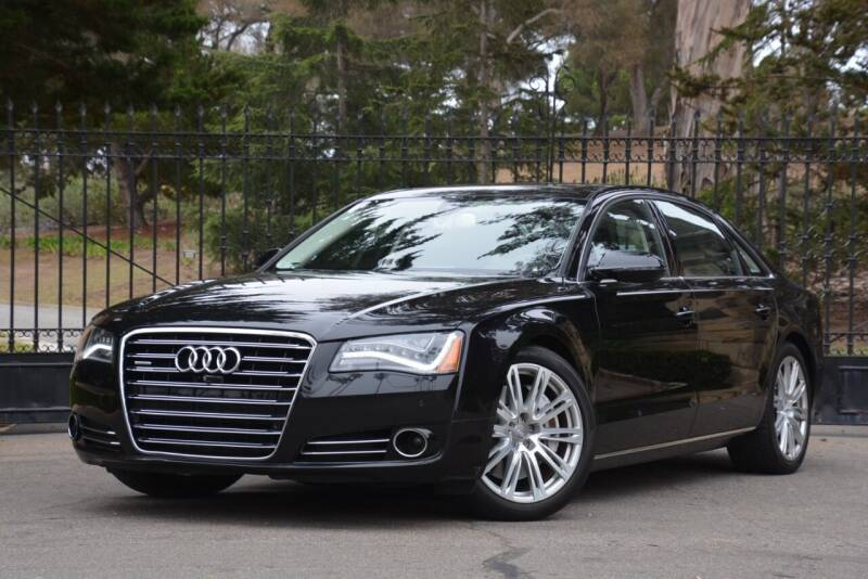 2014 Audi A8 L for sale at Milpas Motors in Santa Barbara CA