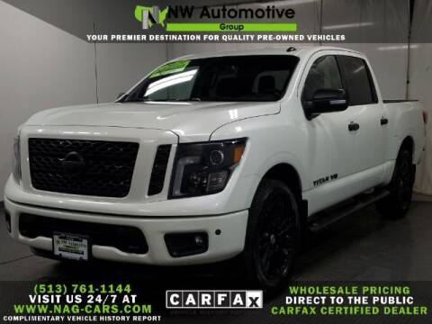 2019 Nissan Titan for sale at NW Automotive Group in Cincinnati OH