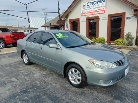 2005 Toyota Camry for sale at Crown Used Cars in Oklahoma City OK