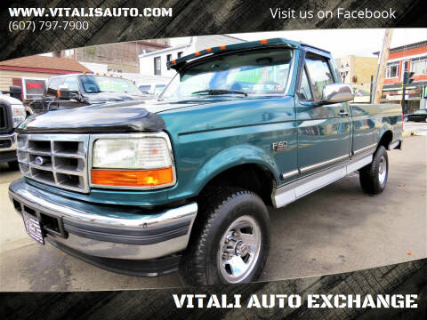1996 Ford F-150 for sale at VITALI AUTO EXCHANGE in Johnson City NY