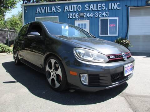 2010 Volkswagen GTI for sale at Avilas Auto Sales Inc in Burien WA