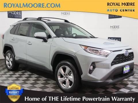 2021 Toyota RAV4 Hybrid for sale at Royal Moore Custom Finance in Hillsboro OR
