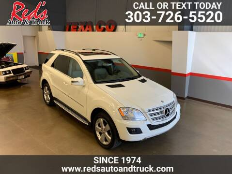 2011 Mercedes-Benz M-Class for sale at Red's Auto and Truck in Longmont CO
