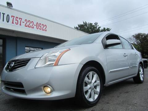 2012 Nissan Sentra for sale at Trimax Auto Group in Norfolk VA