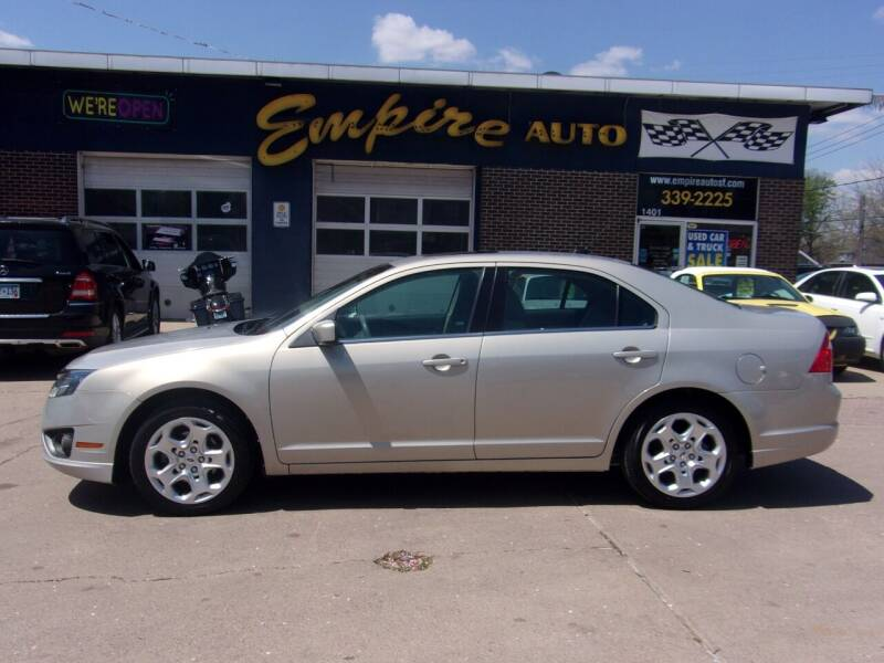 2010 Ford Fusion for sale at Empire Auto Sales in Sioux Falls SD