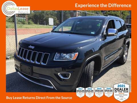 2014 Jeep Grand Cherokee for sale at Dallas Auto Finance in Dallas TX
