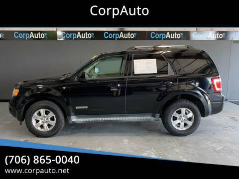 2008 Ford Escape for sale at CorpAuto in Cleveland GA