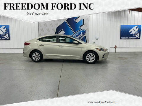 2017 Hyundai Elantra for sale at Freedom Ford Inc in Gunnison UT