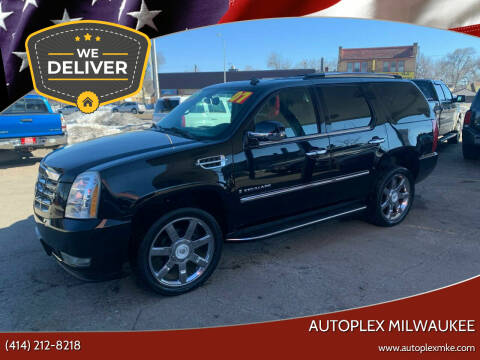 2007 Cadillac Escalade for sale at Autoplex Milwaukee in Milwaukee WI