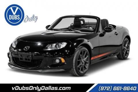 2013 Mazda MX-5 Miata for sale at VDUBS ONLY in Dallas TX