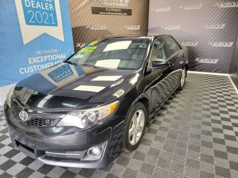 2012 Toyota Camry for sale at X Drive Auto Sales Inc. in Dearborn Heights MI