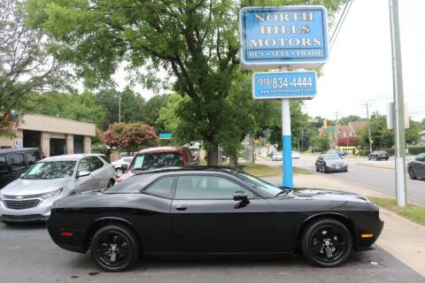 2013 Dodge Challenger for sale at North Hills Motors in Raleigh NC