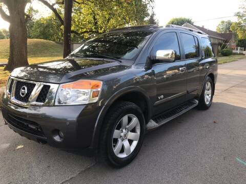 2008 Nissan Armada for sale at Eddie's Auto Sales in Jeffersonville IN