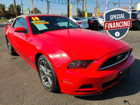 2014 Ford Mustang for sale at Super Cars Sales Inc #1 - Super Auto Sales Inc #2 in Modesto CA