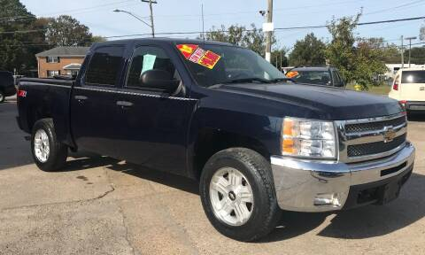 2012 Chevrolet Silverado 1500 for sale at Steve's Auto Sales in Norfolk VA