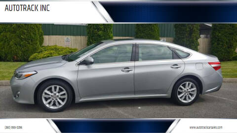 2015 Toyota Avalon for sale at AUTOTRACK INC in Mount Vernon WA