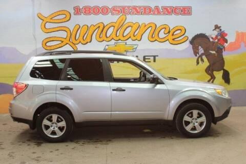 2012 Subaru Forester for sale at Sundance Chevrolet in Grand Ledge MI