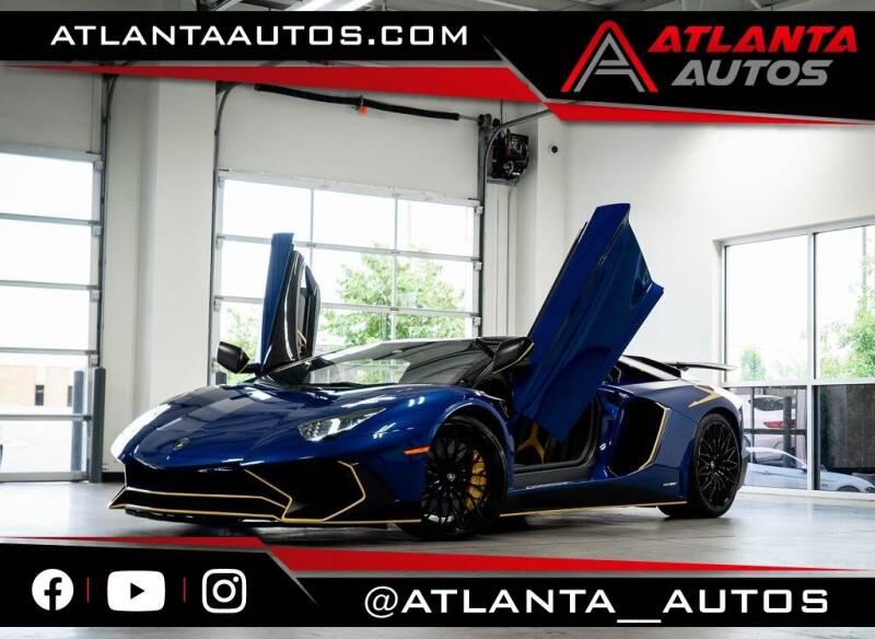 2017 Lamborghini Aventador for sale in Marietta, GA
