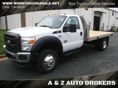 2011 Ford F-450 Super Duty for sale at A & Z AUTO BROKERS in Charlotte NC