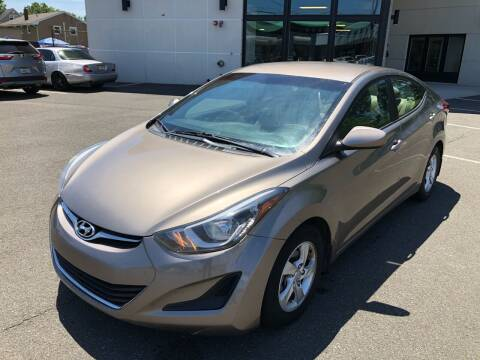 2014 Hyundai Elantra for sale at MAGIC AUTO SALES in Little Ferry NJ