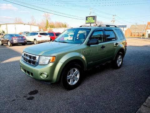 2008 Ford Escape Hybrid for sale at CHILI MOTORS in Mayfield KY
