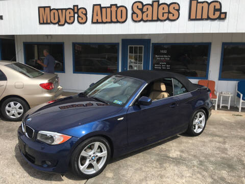 2013 BMW 1 Series for sale at Moye's Auto Sales Inc. in Leesburg FL