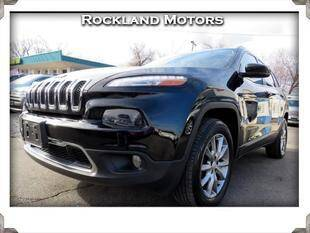 2018 Jeep Cherokee for sale at Rockland Automall - Rockland Motors in West Nyack NY