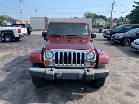 2007 Jeep Wrangler for sale at L.A. Automotive Sales in Lackawanna NY