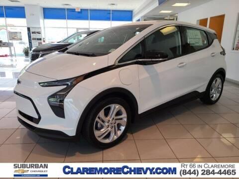2022 Chevrolet Bolt EV for sale at Suburban Chevrolet in Claremore OK
