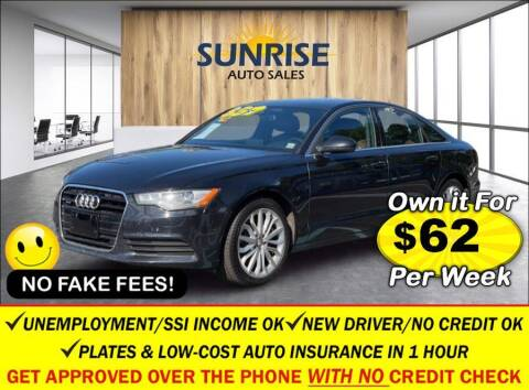 2014 Audi A6 for sale at AUTOFYND in Elmont NY